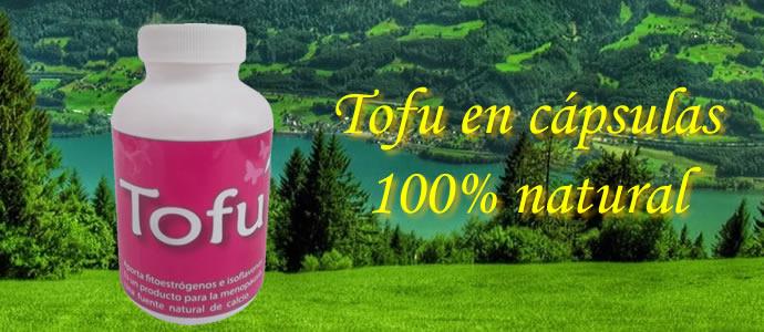 Tofu en cápsulas